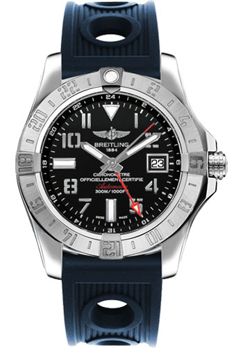 Breitling Watches - Avenger II GMT Ocean Racer Strap - Style No: A3239011/BC34-ocean-racer-blue-deployant