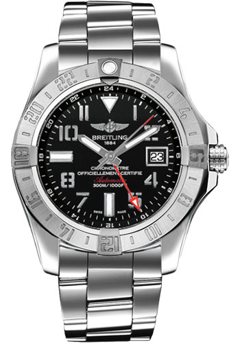Breitling Watches - Avenger II GMT Stainless Steel Bracelet - Style No: A3239011/BC34-professional-iii-steel
