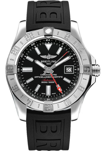 Breitling Watches - Avenger II GMT Diver Pro III Strap - Deployant Buckle - Style No: A3239011/BC35-diver-pro-iii-black-deployant