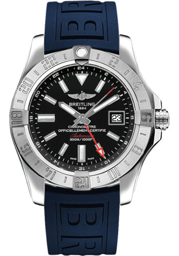 Breitling Watches - Avenger II GMT Diver Pro III Strap - Deployant Buckle - Style No: A3239011/BC35-diver-pro-iii-blue-deployant