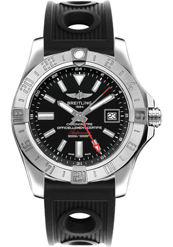 Breitling Watches - Avenger II GMT Ocean Racer Strap - Style No: A3239011/BC35-ocean-racer-black-deployant
