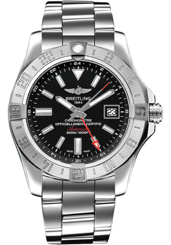 Breitling Watches - Avenger II GMT Stainless Steel Bracelet - Style No: A3239011/BC35-professional-iii-steel