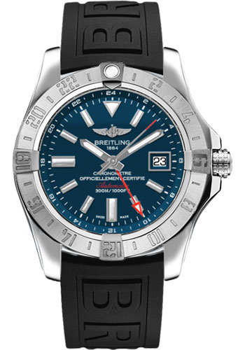 Breitling Watches - Avenger II GMT Diver Pro III Strap - Deployant Buckle - Style No: A3239011/C872-diver-pro-iii-black-deployant