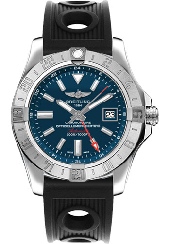 Breitling Watches - Avenger II GMT Ocean Racer Strap - Style No: A3239011/C872-ocean-racer-black-deployant