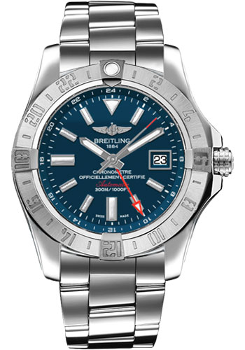 Breitling Watches - Avenger II GMT Stainless Steel Bracelet - Style No: A3239011/C872-professional-iii-steel