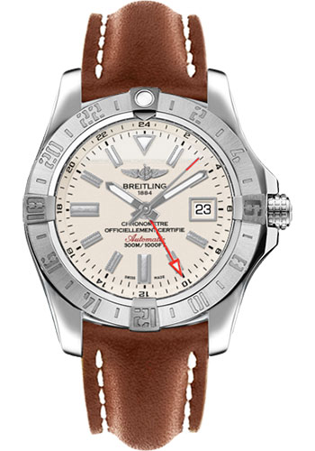 Breitling Watches - Avenger II GMT Leather Strap - Tang Buckle - Style No: A3239011/G778/433X/A20BA.1