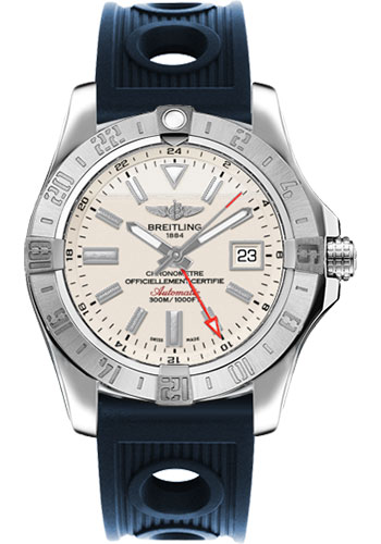 Breitling Watches - Avenger II GMT Ocean Racer Strap - Style No: A3239011/G778-ocean-racer-blue-deployant