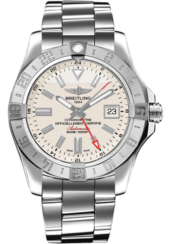 Breitling Watches - Avenger II GMT Stainless Steel Bracelet - Style No: A3239011/G778-professional-iii-steel