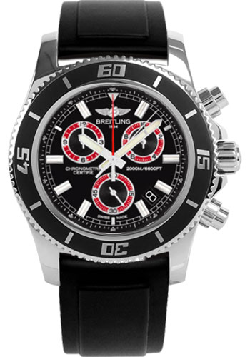 Breitling Watches - Superocean Chronograph M2000 Diver Pro II Strap - Style No: A73310A8/BB72-diver-pro-ii-black-tang