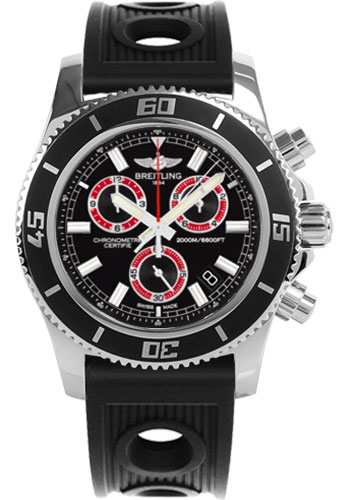 Breitling Watches - Superocean Chronograph M2000 Ocean Racer Strap - Style No: A73310A8/BB72-ocean-racer-black-deployant