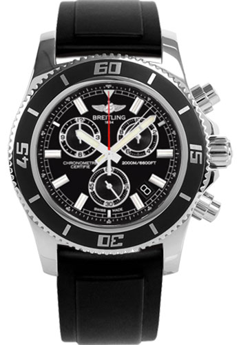 Breitling Watches - Superocean Chronograph M2000 Diver Pro II Strap - Style No: A73310A8/BB73-diver-pro-ii-black-tang