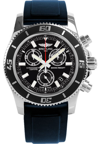 Breitling Watches - Superocean Chronograph M2000 Diver Pro II Strap - Style No: A73310A8/BB73-diver-pro-ii-blue-tang