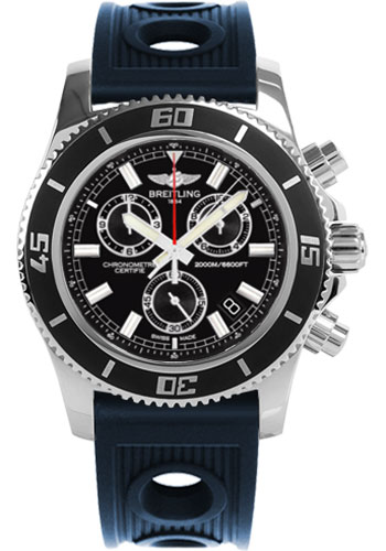 Breitling Watches - Superocean Chronograph M2000 Ocean Racer Strap - Style No: A73310A8/BB73-ocean-racer-blue-deployant