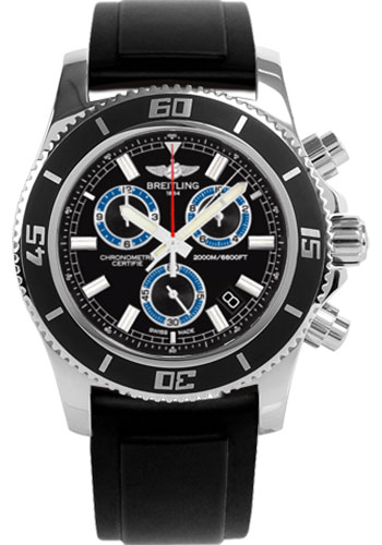 Breitling Watches - Superocean Chronograph M2000 Diver Pro II Strap - Style No: A73310A8/BB74-diver-pro-ii-black-tang