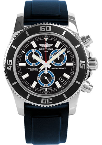 Breitling Watches - Superocean Chronograph M2000 Diver Pro II Strap - Style No: A73310A8/BB74-diver-pro-ii-blue-tang