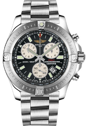 Breitling Watches - Colt Chronograph Professional III Bracelet - Style No: A7338811/BD43-professional-iii-steel