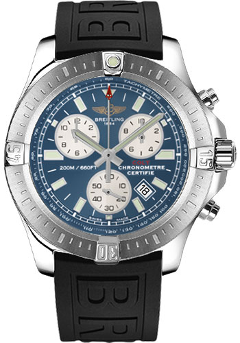 Breitling Watches - Colt Chronograph Diver Pro III Strap - Deployant - Style No: A7338811/C905-diver-pro-iii-black-deployant
