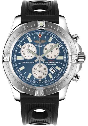Breitling Watches - Colt Chronograph Ocean Racer Strap - Deployant - Style No: A7338811/C905-ocean-racer-black-deployant