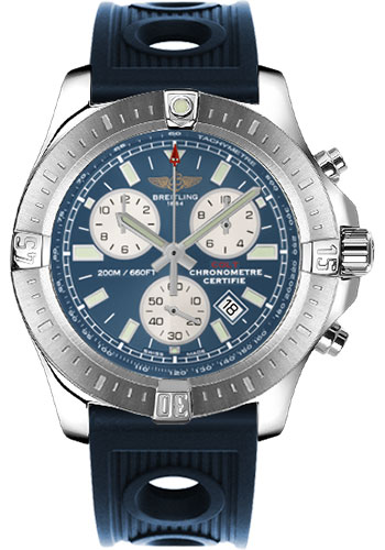 Breitling Watches - Colt Chronograph Ocean Racer Strap - Deployant - Style No: A7338811/C905-ocean-racer-blue-deployant