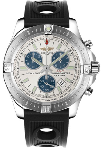 Breitling Watches - Colt Chronograph Ocean Racer Strap - Deployant - Style No: A7338811/G790-ocean-racer-black-deployant