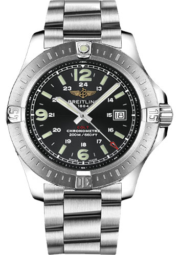 Breitling Watches - Colt Quartz Professional III Bracelet - Style No: A7438811/BD45-professional-iii-steel