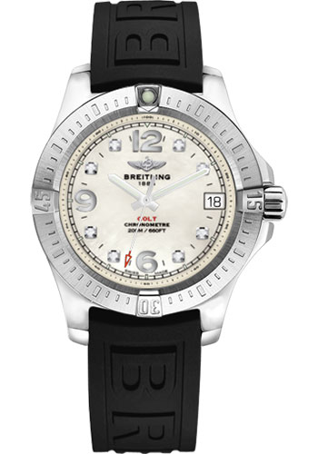 Breitling Watches - Colt 36 Diver Pro III Strap - Tang - Style No: A7438911/A771-diver-pro-iii-black-tang