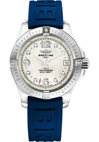 Breitling Watches - Colt 36 Diver Pro III Strap - Tang - Style No: A7438911/A771-diver-pro-iii-blue-tang