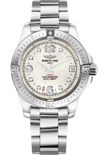 Breitling Watches - Colt 36 Professional III Bracelet - Style No: A7438911/A771-professional-iii-steel