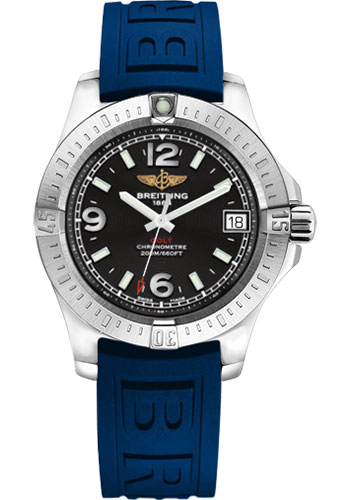 Breitling Watches - Colt 36 Diver Pro III Strap - Tang - Style No: A7438911/BD82-diver-pro-iii-blue-tang