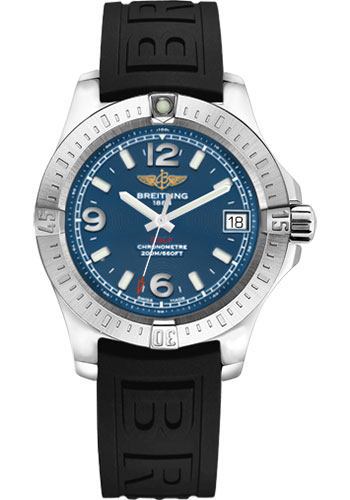 Breitling Watches - Colt 36 Diver Pro III Strap - Tang - Style No: A7438911/C913-diver-pro-iii-black-tang