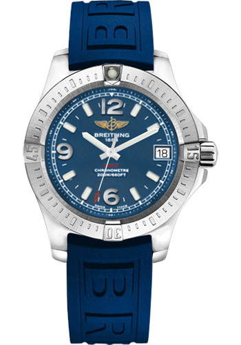 Breitling Watches - Colt 36 Diver Pro III Strap - Tang - Style No: A7438911/C913-diver-pro-iii-blue-tang