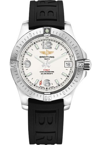 Breitling Watches - Colt 36 Diver Pro III Strap - Tang - Style No: A7438911/G803-diver-pro-iii-black-tang