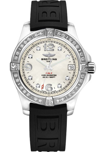 Breitling Watches - Colt 36 Diamond Bezel - Diver Pro III Strap - Tang - Style No: A7438953/A771/237S/A16S.1