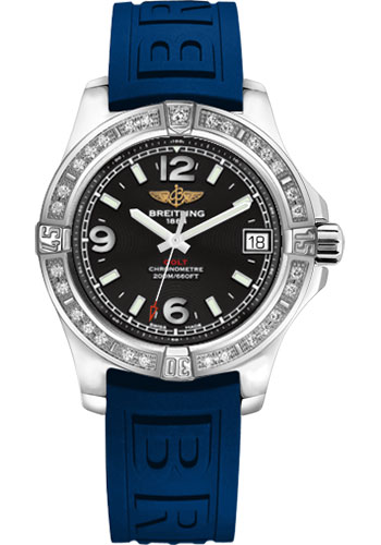 Breitling Watches - Colt 36 Diamond Bezel - Diver Pro III Strap - Tang - Style No: A7438953/BD82-diver-pro-iii-blue-tang