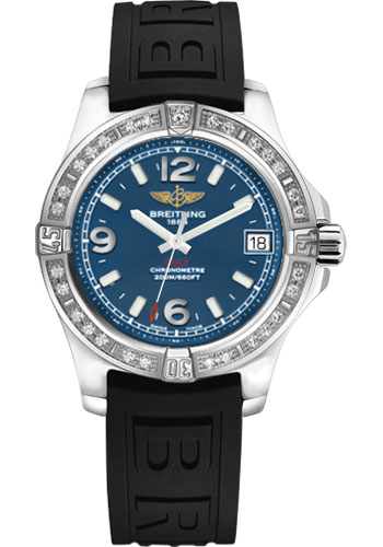 Breitling Watches - Colt 36 Diamond Bezel - Diver Pro III Strap - Tang - Style No: A7438953/C913-diver-pro-iii-black-tang