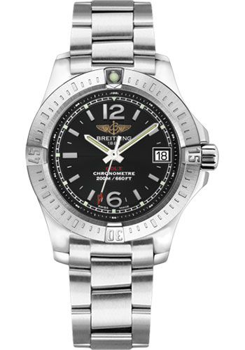 Breitling Watches - Colt Lady Professional III Bracelet - Style No: A7738811/BD46-professional-iii-steel