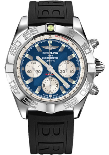 Breitling Watches - Chronomat 44 Steel Polished Bezel - Diver Pro III Strap - Tang - Style No: AB011012/C788-diver-pro-iii-black-tang