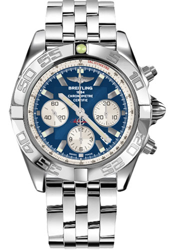 Breitling Watches - Chronomat 44 Steel Polished Bezel - Pilot Bracelet - Style No: AB011012/C788-pilot-steel