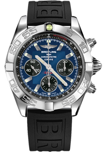 Breitling Watches - Chronomat 44 Steel Polished Bezel - Diver Pro III Strap - Tang - Style No: AB011012/C789-diver-pro-iii-black-tang