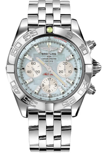 Breitling Watches - Chronomat 44 Steel Polished Bezel - Pilot Bracelet - Style No: AB011012/G686-pilot-steel