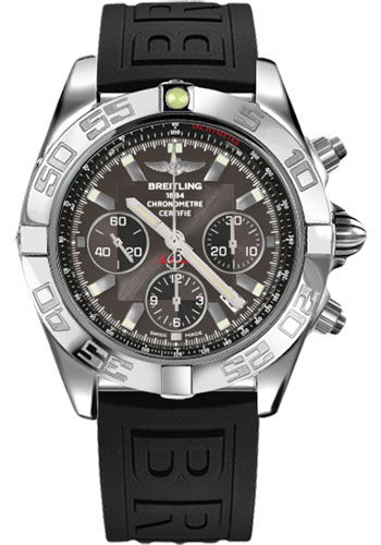 Breitling Watches - Chronomat 44 Steel Polished Bezel - Diver Pro III Strap - Tang - Style No: AB011012/M524-diver-pro-iii-black-tang
