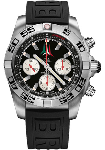 Breitling Watches - Chronomat 44 Steel Frecce Tricolori - Style No: AB01104D/BC62-diver-pro-iii-black-folding