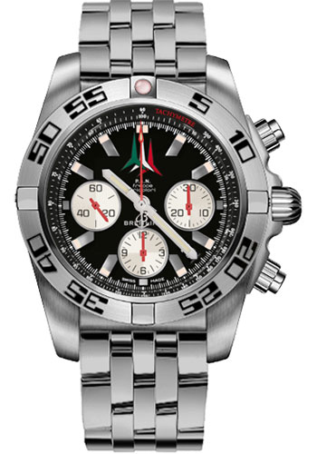 Breitling Watches - Chronomat 44 Steel Frecce Tricolori - Style No: AB01104D/BC62-pilot-steel