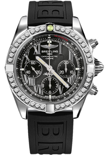 Breitling Watches - Chronomat 44 Steel 40 Dia Bezel - Diver Pro III Strap - Tang - Style No: AB011053/B956-diver-pro-iii-black-tang