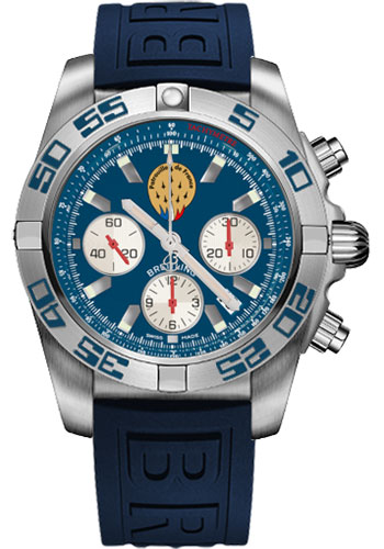 Breitling Watches - Chronomat 44 Steel Patrouille de France - Style No: AB01109E/C886-diver-pro-iii-blue-folding