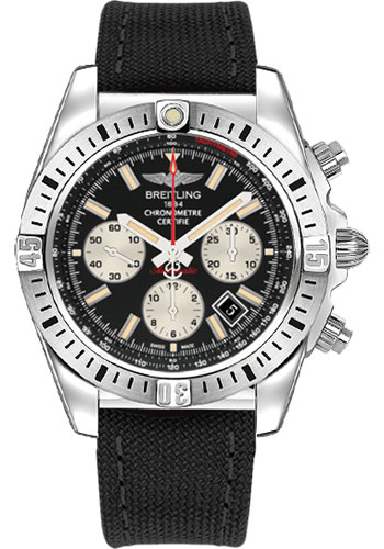 Breitling Watches - Chronomat 44 Airborne Military Strap - Style No: AB01154G/BD13-military-black-deployant