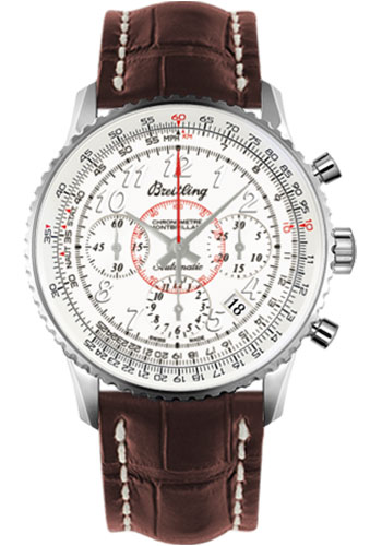 Breitling Watches - Montbrillant 01 Stainless Steel - Style No: AB013012/G735-croco-brown-deployant