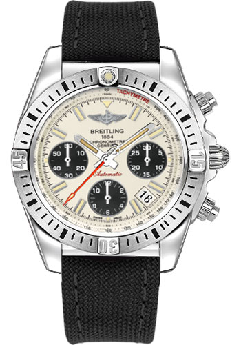 Breitling Watches - Chronomat 41 Airborne Military Strap - Style No: AB01442J/G787-military-black-deployant