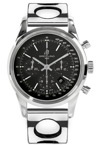Breitling Watches - Transocean Chronograph Stainless Steel - Bracelet - Style No: AB015212/BA99-air-racer-steel