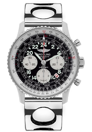 Breitling Watches - Navitimer Cosmonaute Stainless Steel - Style No: AB021012/BB59-air-racer-steel